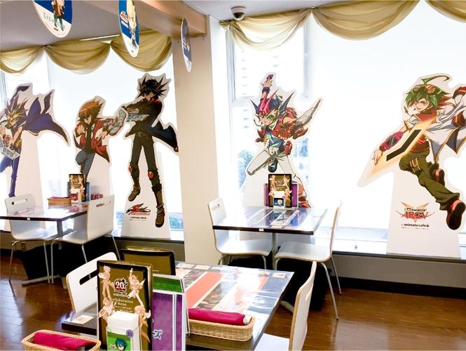 『遊☆戯☆王』シリーズ誕生20周年記念カフェ