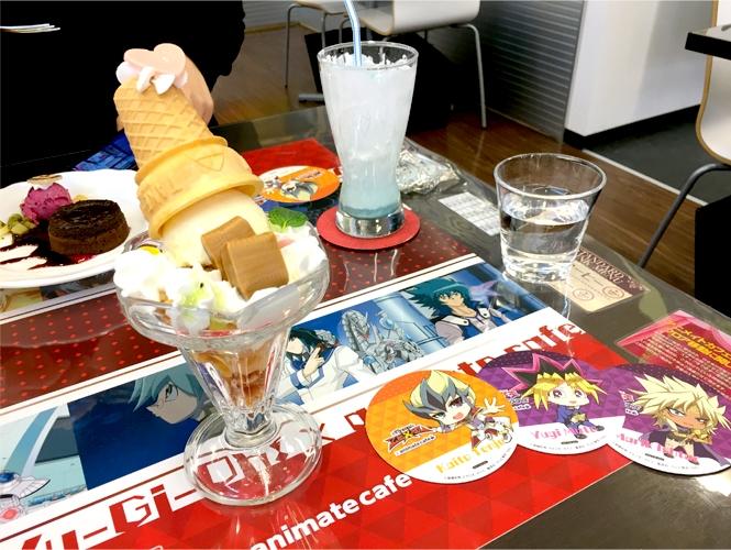 『遊☆戯☆王』シリーズ誕生20周年記念カフェ ハートランドパフェ
