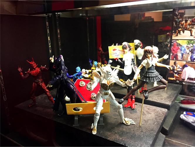 仮面ライダー・ザ・ダイナー店内 電王