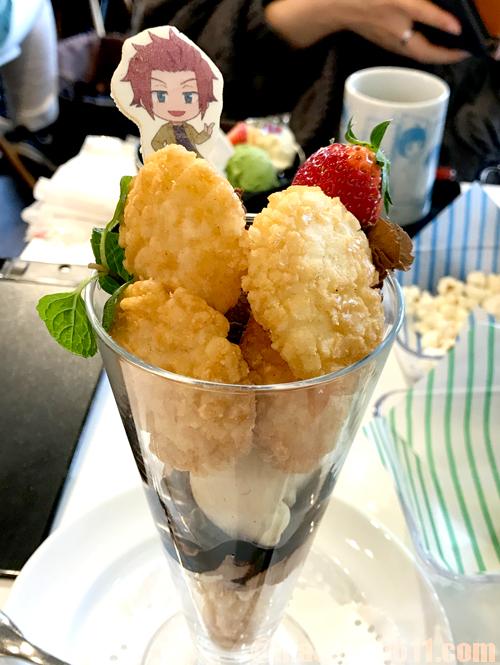 ワールドトリガーカフェ Animax Cafe+ 迅のぼんち揚パフェvol.2