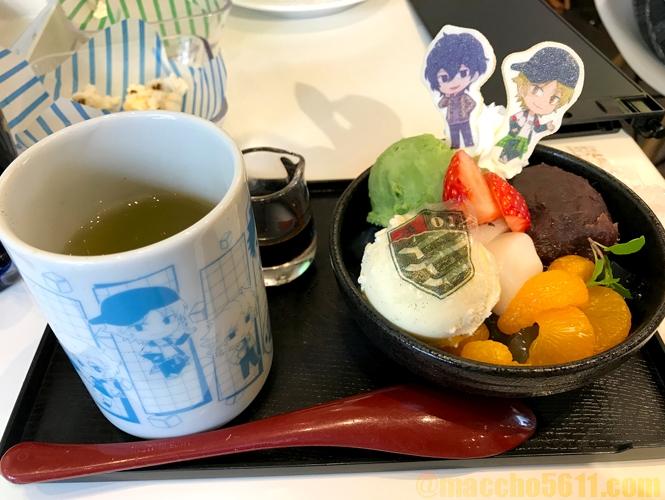 ワールドトリガーカフェ Animax Cafe+ 太刀川隊のA級なあんみつ
