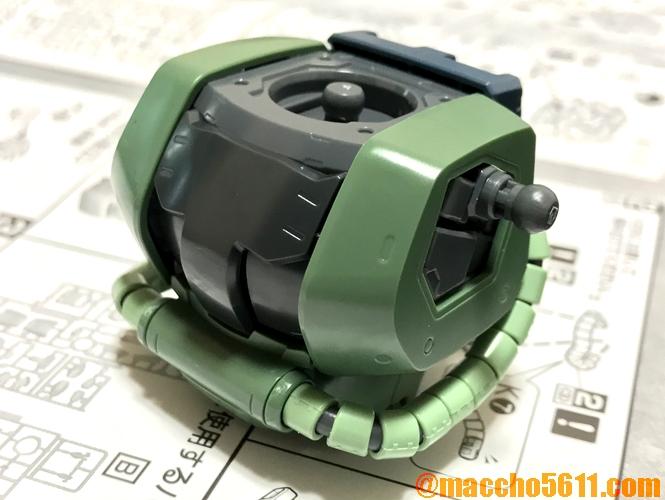 MG MS-06 ザクⅡ胸部