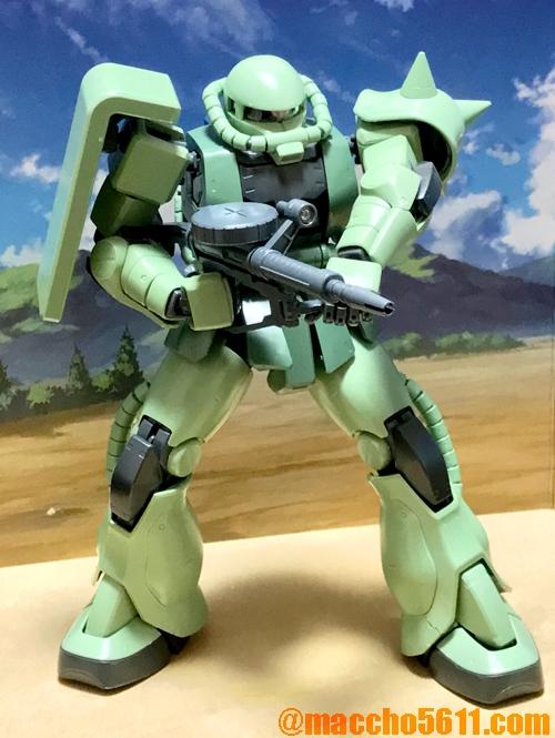 MG MS-06 ザクⅡ素組み